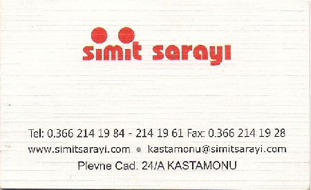 Simit Saray�