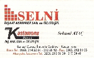 SELN� �N�.AKAR.SAN.VE T�C.LTD.�T�.